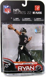 McFarlane Toys NFL Sports Picks Series 22 [2009 Wave 3] Action Figure Matt Ryan (Atlanta Falcons) Black Jersey & Black Pants Variant