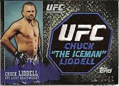 Topps Exclusive Ultimate Fighting Championship UFC 100 Patch Card Chuck
