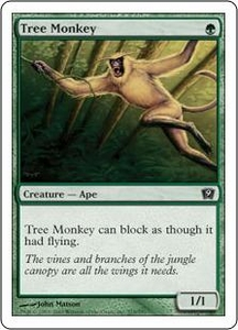 Magic the Gathering Ninth Edition Single Card Common #275 Tree Monkey