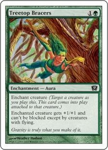 Magic the Gathering Ninth Edition Single Card Common #276 Treetop Bracers