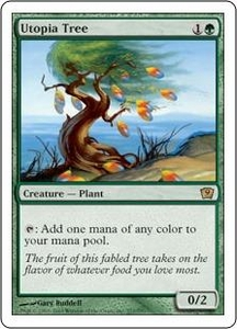 Magic the Gathering Ninth Edition Single Card Rare #277 Utopia Tree