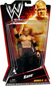 Mattel WWE Wrestling Basic Series 2 Action Figure Kane BLOWOUT SALE!