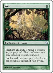 Magic the Gathering Ninth Edition Single Card Uncommon #281 Web