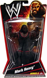 Mattel WWE Wrestling Basic Series 2 Action Figure Mark Henry