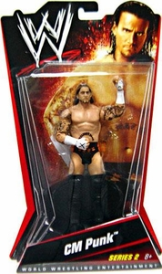 Mattel WWE Wrestling Basic Series 2 Action Figure CM Punk