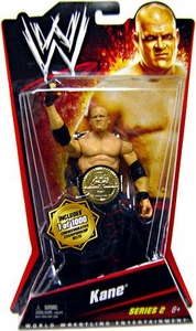 Mattel WWE Wrestling Basic Series 2 Action Figure Kane [Commemorative Championship Belt] BLOWOUT SALE! Only 1,000 Made!