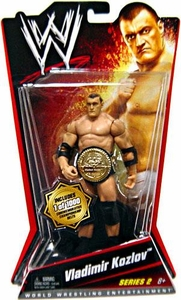 Mattel WWE Wrestling Basic Series 2 Action Figure Vladimir Kozlov[Commemorative Championship Belt] Only 1,000 Made!