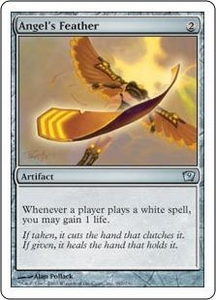Magic the Gathering Ninth Edition Single Card Uncommon #287 Angel's Feather