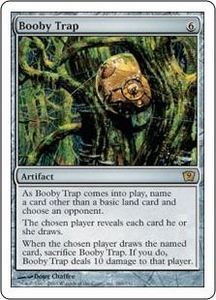 Magic the Gathering Ninth Edition Single Card Rare #289 Booby Trap