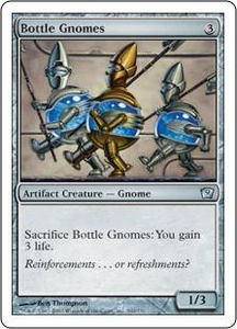 Magic the Gathering Ninth Edition Single Card Uncommon #290 Bottle Gnomes