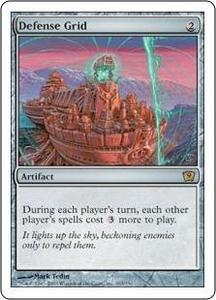 Magic the Gathering Ninth Edition Single Card Rare #293 Defense Grid
