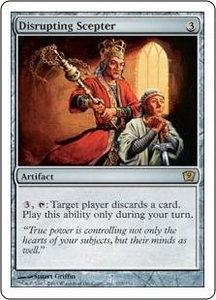 Magic the Gathering Ninth Edition Single Card Rare #295 Disrupting Scepter