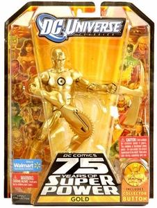 DC Universe Classics Series 14 Exclusive Action Figure Gold [Build Ultra Humanite Piece!]