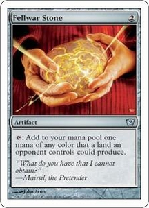 Magic the Gathering Ninth Edition Single Card Uncommon #297 Fellwar Stone