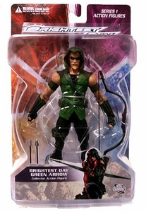 DC Direct Green Lantern Brightest Day Series 1 Action Figure Green Arrow