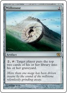Magic the Gathering Ninth Edition Single Card Rare #304 Millstone