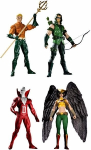 DC Direct Green Lantern Brightest Day Series 1 Set of 4 Action Figures [Aquaman, Green Arrow, Hawkgirl & Deadman]