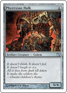 Magic the Gathering Ninth Edition Single Card Uncommon #306 Phyrexian Hulk