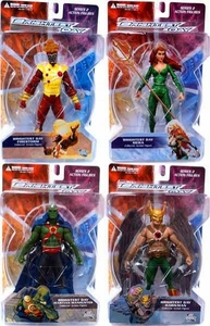 DC Direct Green Lantern Brightest Day Series 2 Set of 4 Action Figures [Hawkman, Martian Manhunter, Firestorm & Mera]
