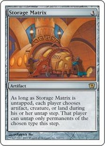 Magic the Gathering Ninth Edition Single Card Rare #310 Storage Matrix