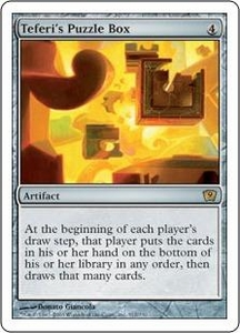 Magic the Gathering Ninth Edition Single Card Rare #312 Teferi's Puzzle Box