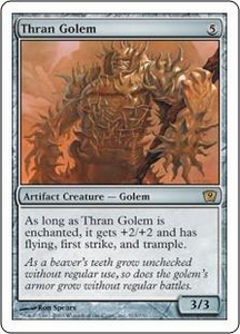 Magic the Gathering Ninth Edition Single Card Rare #313 Thran Golem