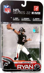 McFarlane Toys NFL Sports Picks Series 22 [2009 Wave 3] Action Figure Matt Ryan (Atlanta Falcons) Black Jersey & White Pants Premier Collector Level Chase Only 200 Made!