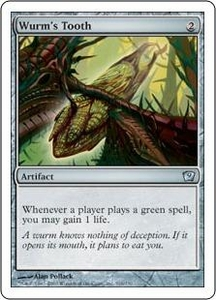 Magic the Gathering Ninth Edition Single Card Uncommon #316 Wurm's Tooth