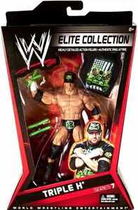 Mattel WWE Wrestling Elite Series 7 Action Figure Triple H [DX]