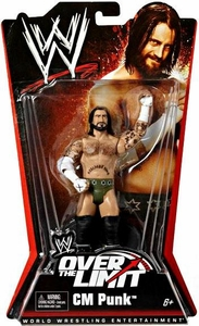 Mattel WWE Wrestling Over The Limit PPV Series 5 Action Figure CM Punk Best in the World!