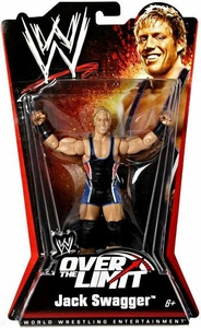 Mattel WWE Wrestling Over The Limit PPV Series 5 Action Figure Jack Swagger