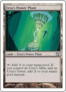 Magic the Gathering Ninth Edition Single Card Uncommon #328 Urza's Power Plant