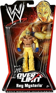 Mattel WWE Wrestling Over The Limit PPV Series 5 Action Figure Rey Mysterio BLOWOUT SALE!