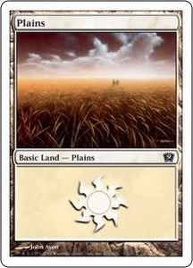 Magic the Gathering Ninth Edition Single Card Land #331 Plains [Random Artwork]
