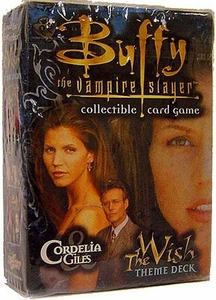 Buffy the Vampire Slayer Card Game Class of '99 The Wish Theme Deck Cordelia & Giles