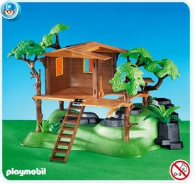 Playmobil Suburban Life Set #7937 Tree House