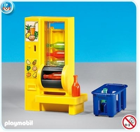 Playmobil Suburban Life Set #7931 Vending Machine