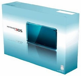 Nintendo 3DS Handheld Video Game System Aqua Blue