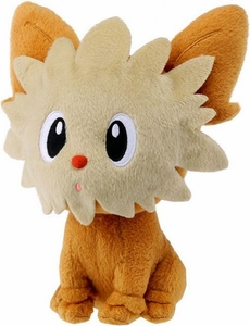 Pokemon Japanese Best Wishes 7.5 Inch Plush Figure Lillipup