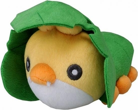 Pokemon Japanese Best Wishes 7 Inch Plush Figure Sewaddle
