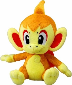 Pokemon Japanese Takara / Tomy Shopro 7 Inch Plush Figure Chimchar