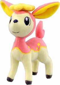 Pokemon Japanese Best Wishes 7 Inch Plush Figure Pink Deerling [Spring Form]