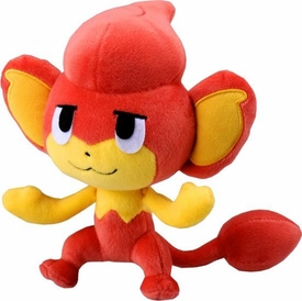 Pokemon Japanese Best Wishes 7 Inch Plush Figure Pansear