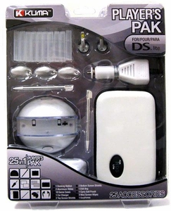 Kuma Nintendo DS Lite 25 in 1 Players Pak [White]