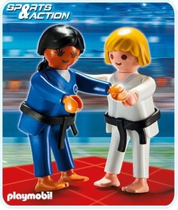 Playmobil Athletes Set #5194 Judo Competitors
