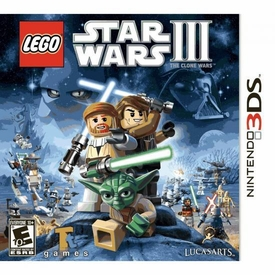 Nintendo 3DS Video Game LEGO Star Wars III The Clone Wars