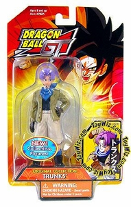 Dragon Ball GT Bandai Original Collection 4.5 Inch PVC Figure Trunks
