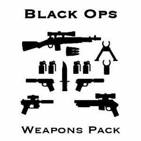 BrickArms Exclusive Style Black Ops Weapons Pack