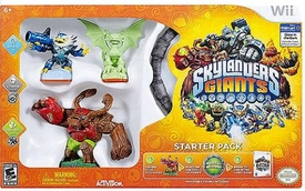 Skylanders GIANTS Exclusive Starter Kit Wii with GLOW-IN-THE-DARK Cynder!