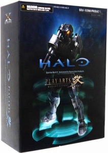 Halo Reach Square Enix Play Arts Kai Action Figure Black Spartan Mark V